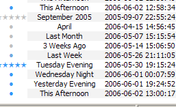 verbal timestamps screenshot