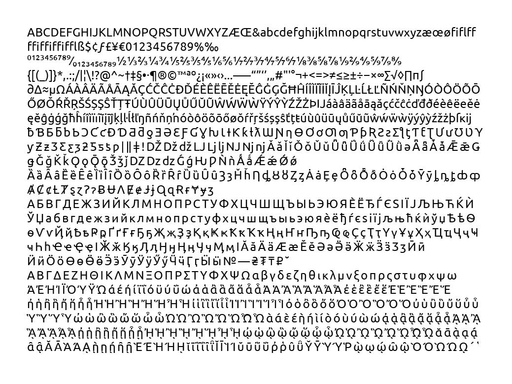 The New Ubuntu Maverick System Font · kbps